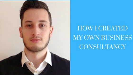How I created my Own Business Consultancy