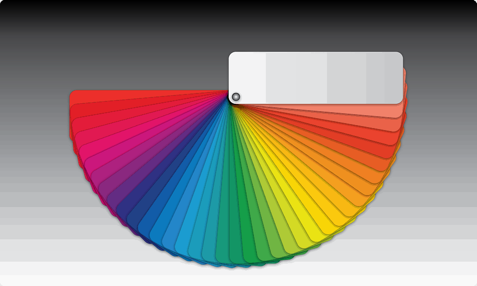 Color wheel for artists