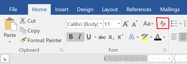 How to Remove Header and Heading Styles in Word?